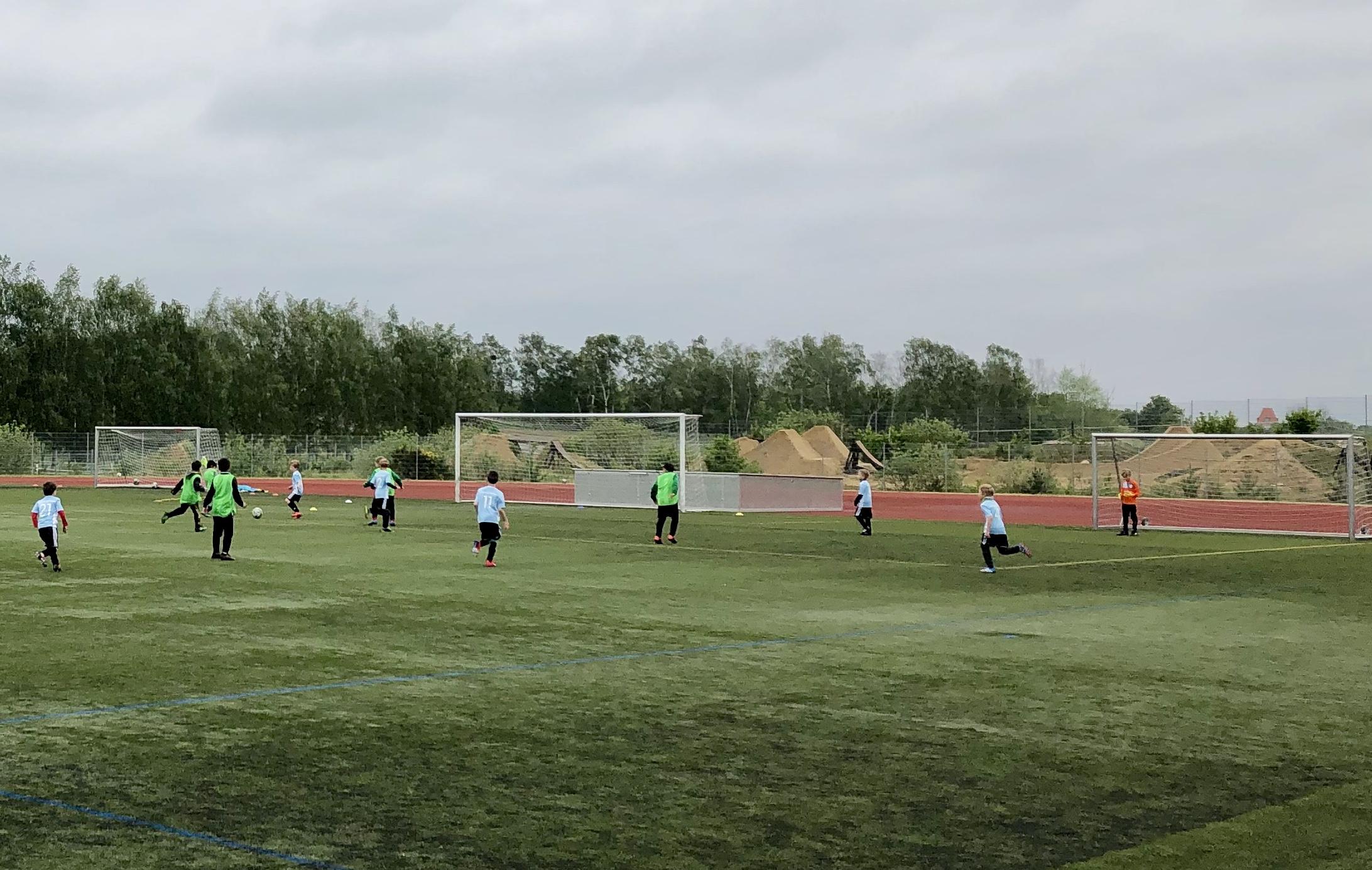 Tolles Fußballspiel der F-Jugend in Dallgow