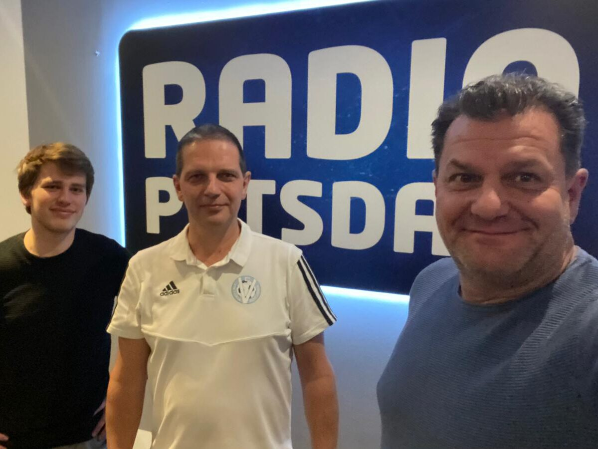 Viktoria zu Gast bei Radio Potsdam